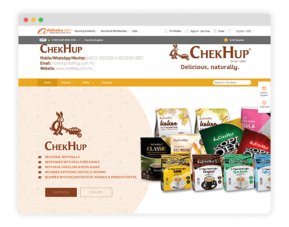 Chekhup-Alibaba-Client