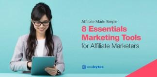 8 Essentials Marketing Tools for Affiliate Marketing