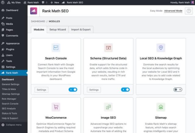 marketing tools for affiliate marketing - rank math