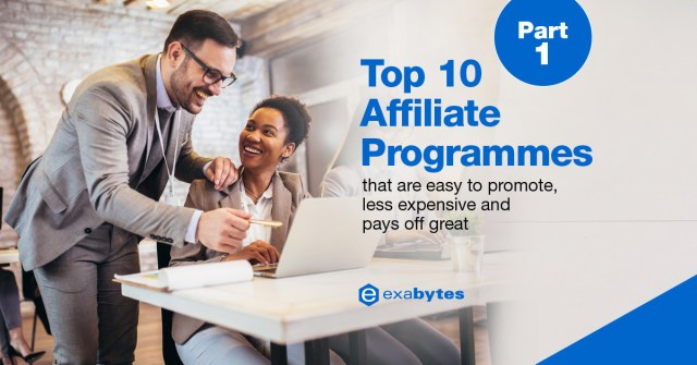 10 Best Affiliate Programs - EASY To Promote, LESS Expensive & PAY High Commissions [Part 1]