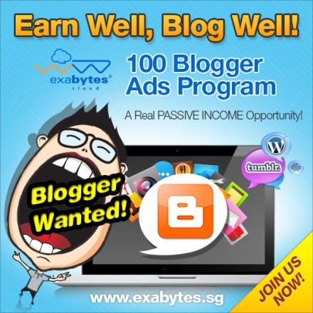 blogger-ads-Program