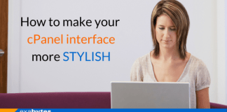 How to make your cPanel interface more STYLISH