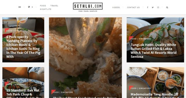 Top 4 - SETHLUI.com- singapore blog
