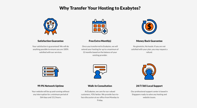 Why Should You Transfer to Exabytes?