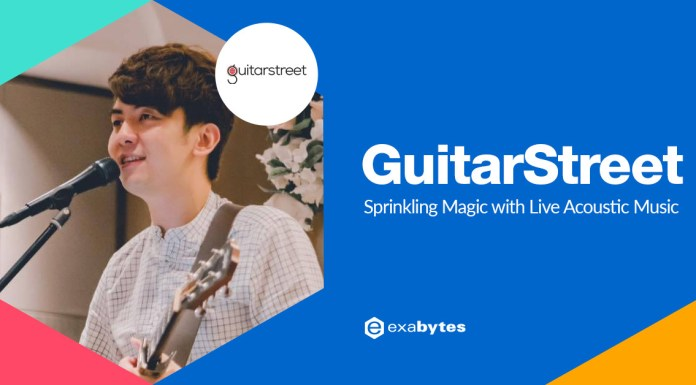 Guitar Street Sprinkling Magic with Live Acoustic Music