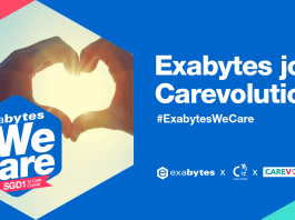 Spreading love to Care Corner Singapore's Carevolution, #ExabytesWeCare