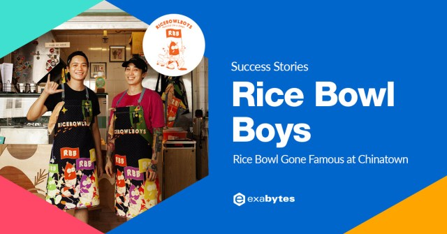 Success Story - Rice Bowl Boys - Rice Bowl Has Gone Famous At Chinatown