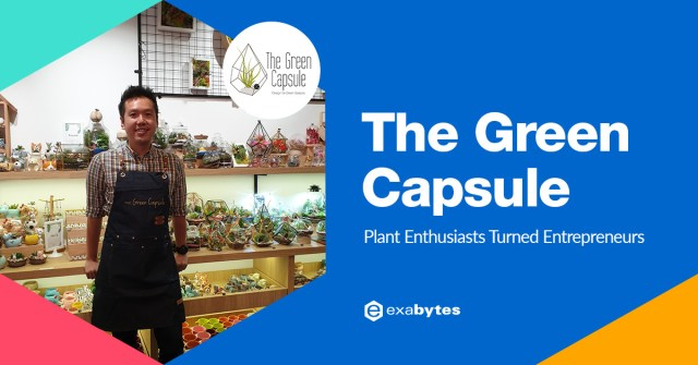 The Green Capsule Success Story - Plant Enthusiasts Turned Entrepreneurs