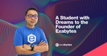 A student with dreams to the founder of Exabytes
