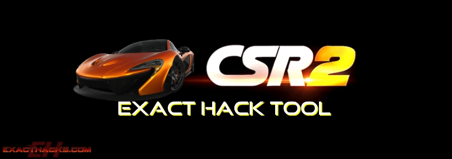CSR Racing 2 Exact Hacks outil