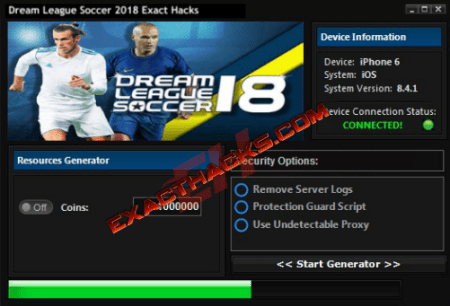 Dream Championat Soccer 2018 genau Hacks