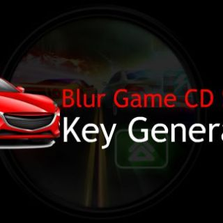 Blur Game CD Key Generator
