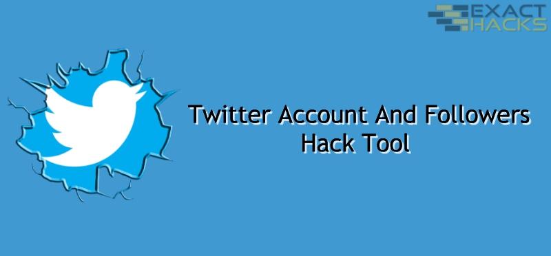 Twitter rekening en volgelinge Hack Tool
