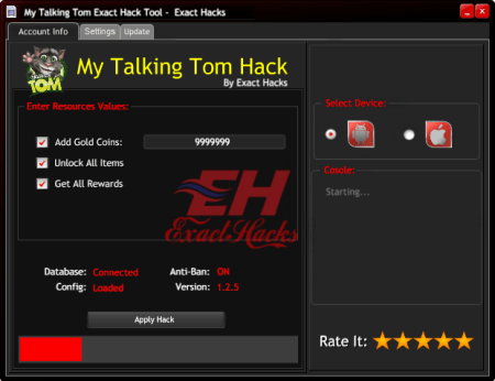 My Talking Tom Tevahiya Hack Tool