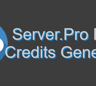 Server.Pro קרדיטים Hack Generator 2018