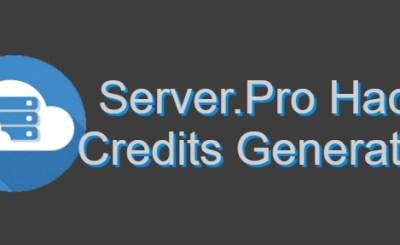 Server.Pro Credits Hack Generator 2018