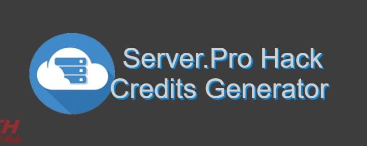 Server.Pro Credits Hack Generator 2020