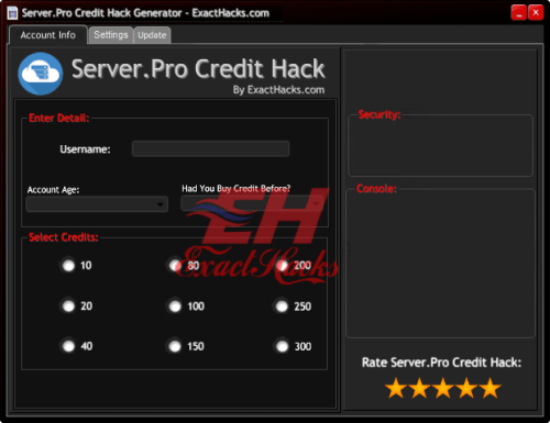 Server.Pro Créditos Hack Generador 2018
