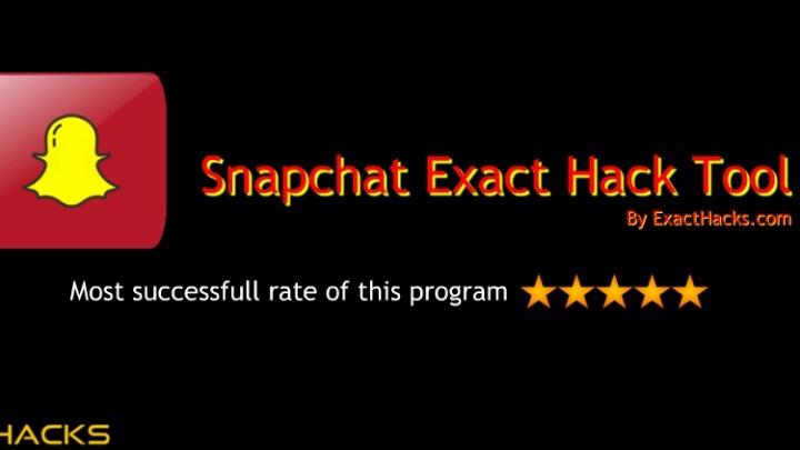 Snapchat Exact Hack Tool 2020