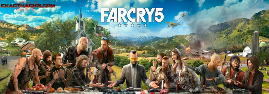 Far Cry 5 ključni generator (Xbox One-PS4-PC)