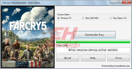 Алс Cry 5 түлхүүр Generator (Xbox One-PS4-PC-)