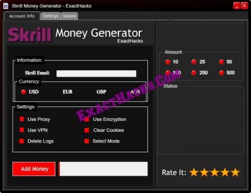 Skrill Money Generator [kyykäärme]