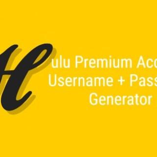 Hulu Premium Hesap Adı + Şifre Üretici