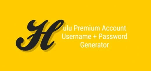 Hulu Premium Account Kasutajanimi + Password Generator