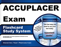 ACCUPLACER Flashcards