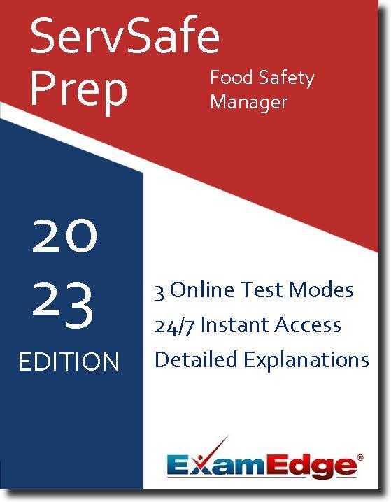 ServSafe Food Safety Manager Certification 1-Test