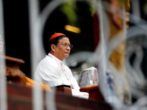 Cardinal Bo. File photo: CNS