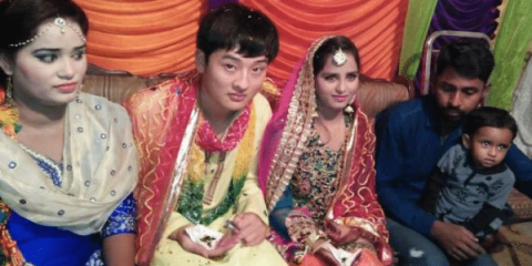Pakistani girls and women sold off as brides to Chinese men and whisked off to an uncertain and often brutal future in China. Photo source: AsiaNews.it