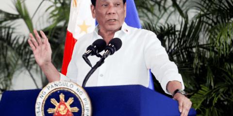 Rodrigo Duterte. Photo: CNS/Reuters