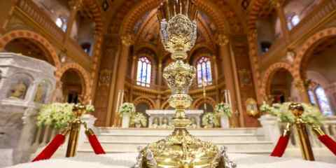 The altar at Assumption Cathedral in Bangkok. File photo: CNS/ Reuters
