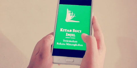 The Bible application that was in the Minangkabau language on Google Play has been removed following a protest by the governor of West Sumatra province. Photo: supplied