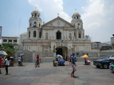 Quiapo Church. Photo: Public domain