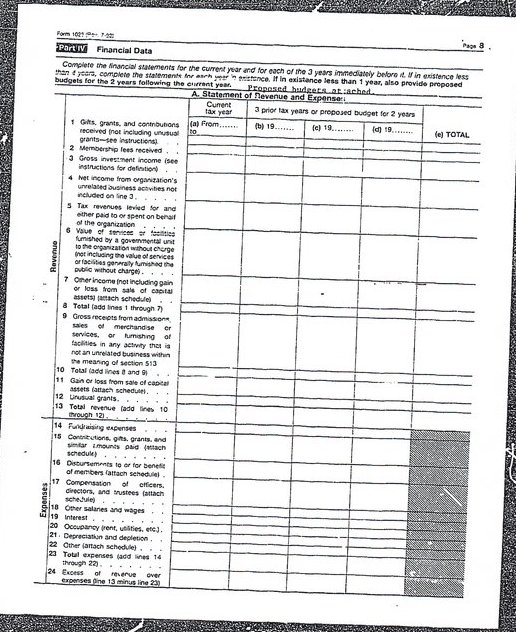 World Mission Society Church of God IRS Tax Exempt