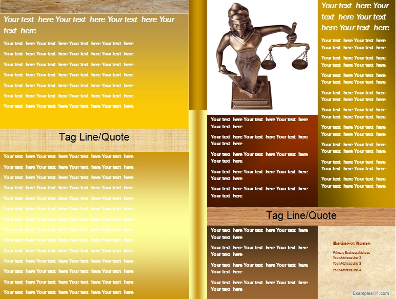 Legal Leaflets Samples