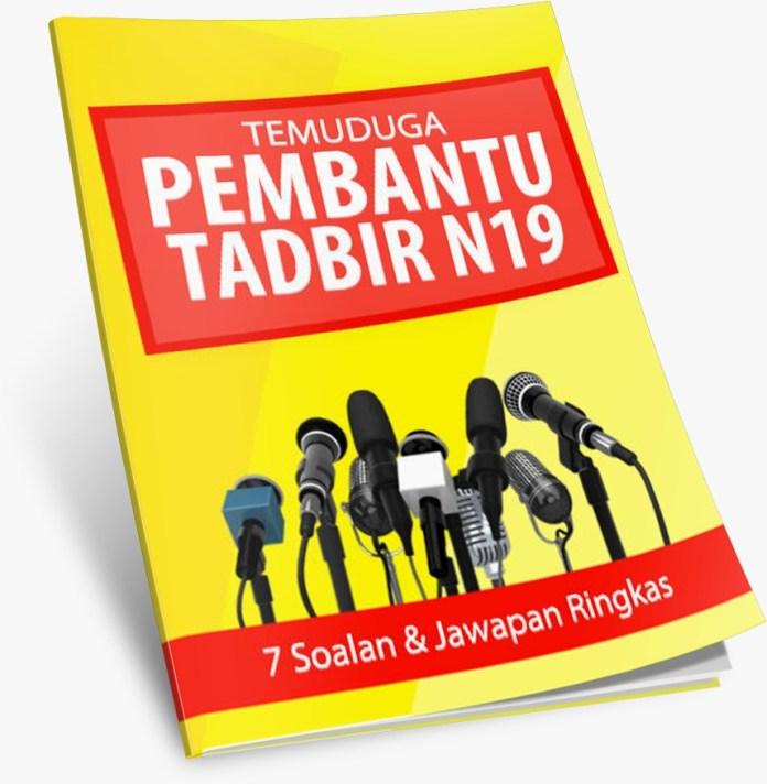 Soalan Temuduga Pembantu Tadbir N19