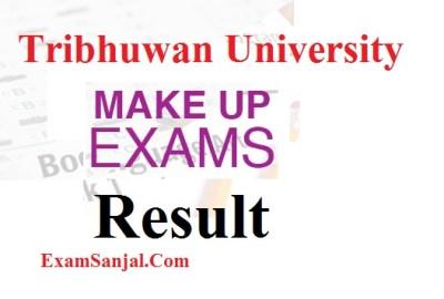 M.Sc. Math IV Semester Make Up Exam Result ( Make Up Exam Result TU)