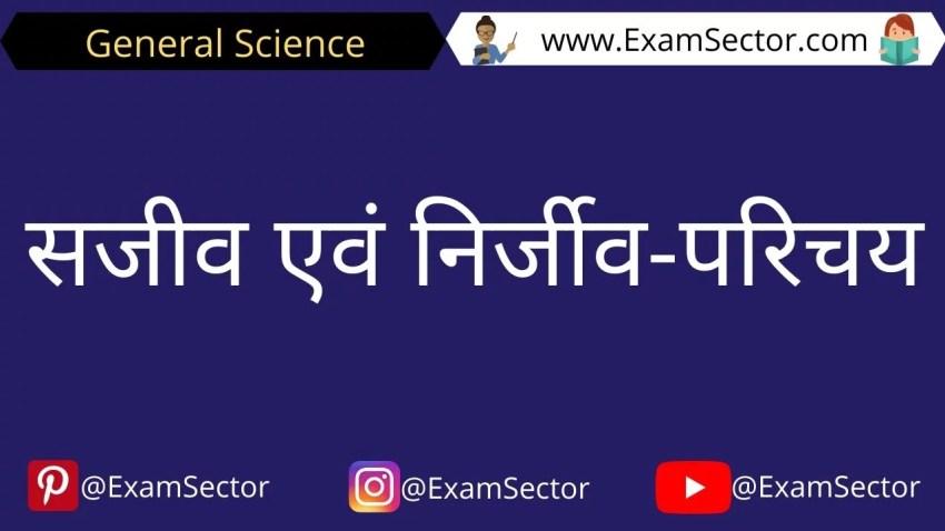 sanjiv or nirjiv kya hai in hindi