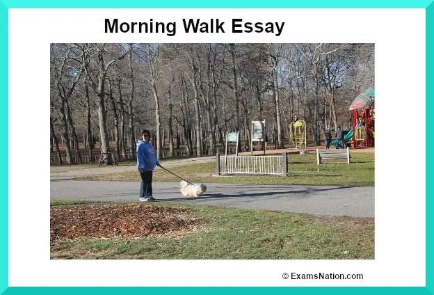 morning walk essay
