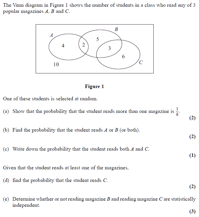 questions on venn diagrams with solutions 1982 chevrolet truck wiring diagram exam - examsolutions