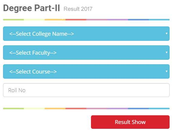BNMU Part 2 Result[www.examstocks.com]