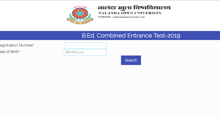 Bihar BEd CET Entrance Result 2019 Declared Check Here