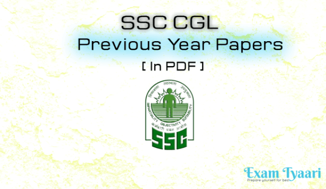 SSC CGL-2010 Tier-1 (First Shift) Previous Year Paper [PDF]