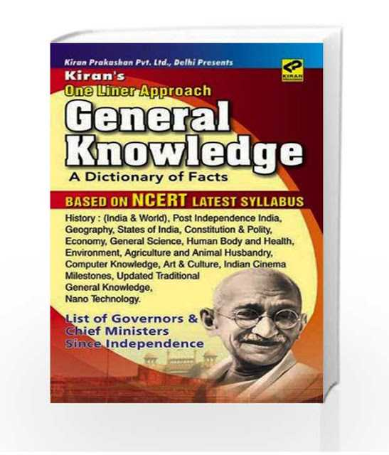 Free-Book: Kiran's One Liner Approach General Knowledge [PDF] • Exam