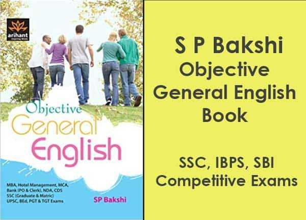 Free book objective general english by s p bakshi pdf exam tyaari download sp bakshi english book pdf exam tyaari ccuart