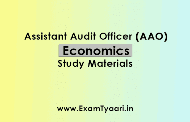 SSC CGL AAO Paper-4 Economics Study Material [ Download PDF] - Exam Tyaari