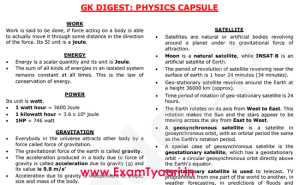 Physics Notes in English PDF Download - Exam Tyaari
